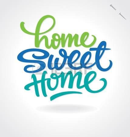 Home Sweet Home letras de la mano