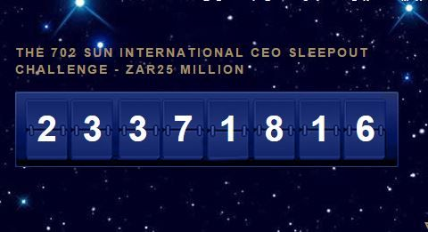 ZAR23million+ for the #CEOSleepOutZA 2015