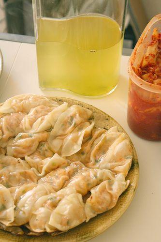 Kimchi gyoza – ravioli grillé piquant végétalien | tabimobi