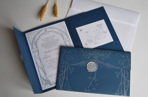 Lord of the Rings wedding invitations if anyone knows my boyfriend this is what we will have!
