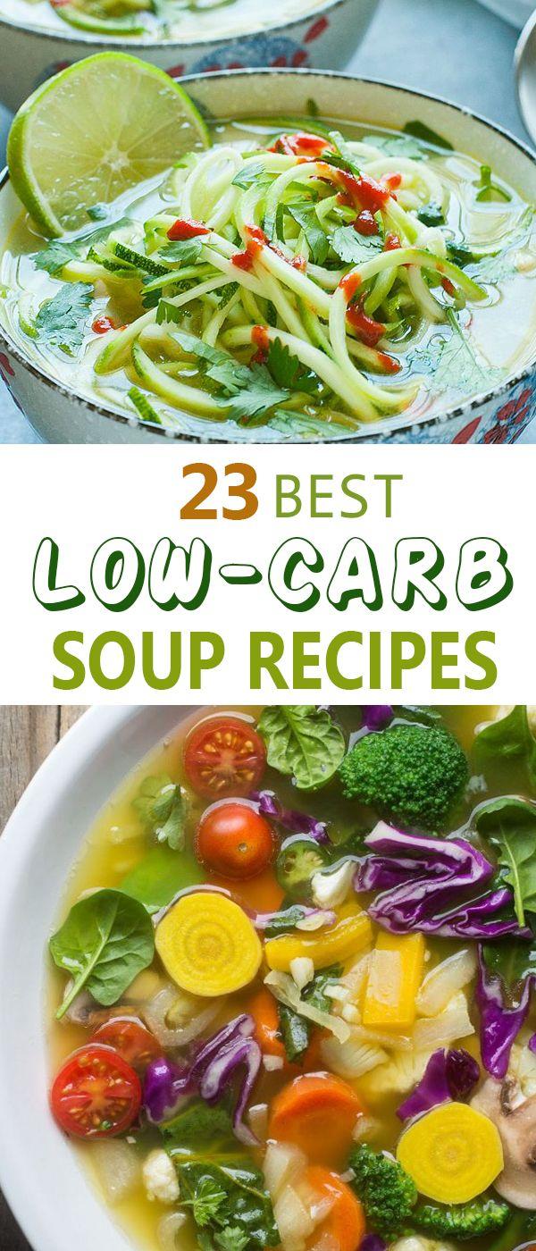 23 best low carb soup recipes