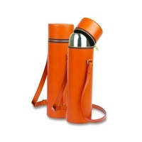 Daines & Hathaway Thermal Flask with Flask Holder DH2703 Orange - Buy discount Daines & Hathaway Thermal Flask with Flask Holder DH2703 Orange - Save on cheap Daines & Hathaway Thermal Flask with Flask Holder DH2703 Orange