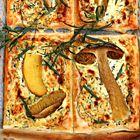 Bladerdeegtaartje van eekhoorntjesbrood en dragon - recept - okoko recepten
