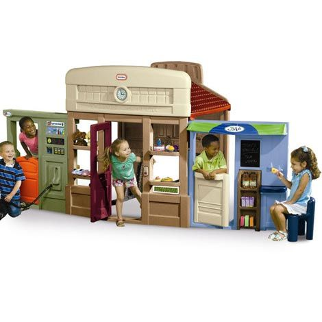 Playhouse plans for sale woodworking projects plans for Cheap playhouse kits
