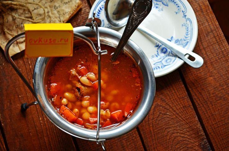 Томатный суп – боб-гуляш / Простые рецепты