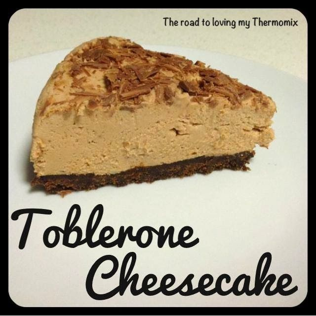 Toblerone Cheesecake. :O WHAT?! Toblerone is pretty much the best chocolate, ever.
