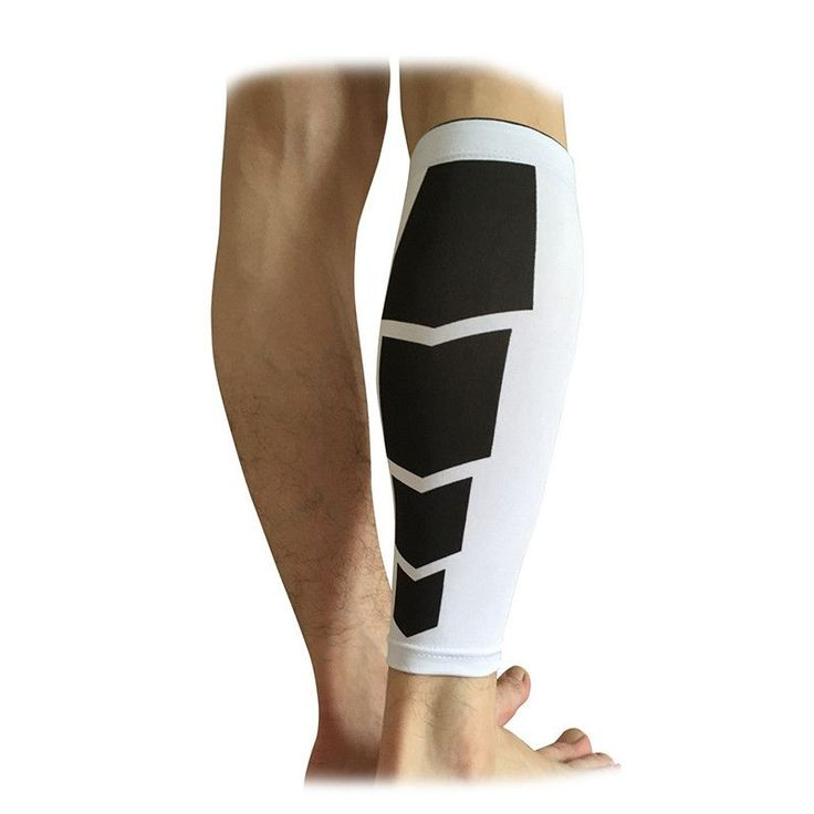 1PCS Base Layer Compression Leg Sleeve Shin Guard Men Women Cycling Calf Support