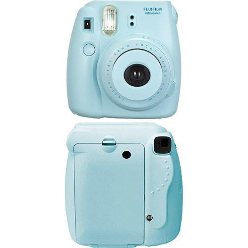 Câmera Instantânea Fujifilm Instax Mini 8 Azul