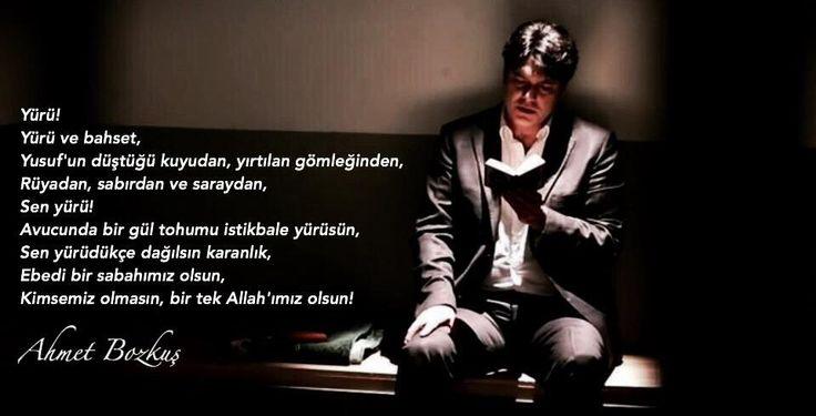 Yürü.... (Ahmet Bozkuş)