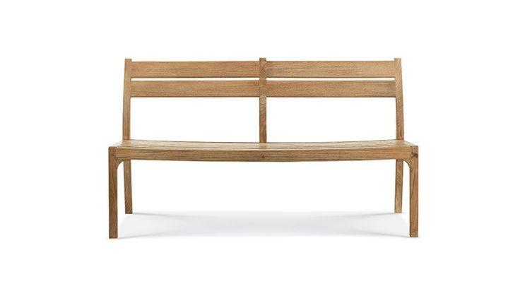 les 25 meilleures id es concernant banc en teck sur. Black Bedroom Furniture Sets. Home Design Ideas