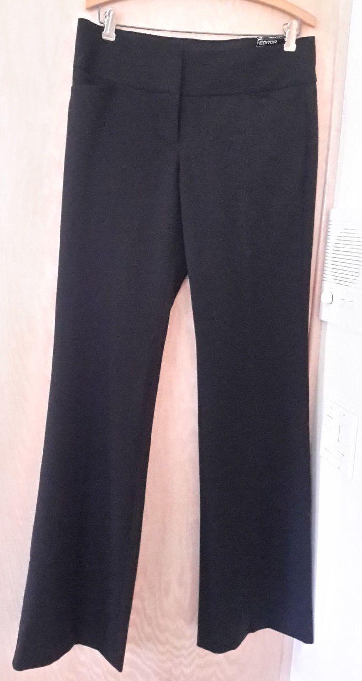 Cool Amazing Express NWT! Black Editor Flare Low Rise Studio Stretch Dress Pants 8L 34X35  2017 2018 Check more at https://24store.ml/fashion/amazing-express-nwt-black-editor-flare-low-rise-studio-stretch-dress-pants-8l-34x35-2017-2018-2/