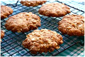 ANZAC Biscuits! The acronym ANZAC stands for Australian and New Zealand Army Corps, whose soldiers were known as Anzacs. Anzac Day remains one of the most important national occasions of both Australia and New Zealand.     These traditional biscuits were baked by anxious wives and mothers during World War I, packed in food parcels, and sent to the Australian soldiers in the trenches. The biscuits are known for their excellent keeping properties.
