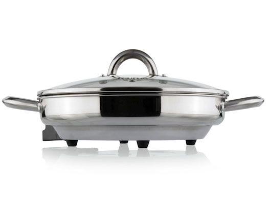 Inox Skillet Stainless Steel Pan