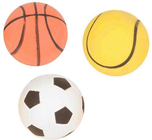 Aus der Kategorie Bälle  gibt es, zum Preis von   Der beliebteste Hundeball. Moosgummiball a 9 cm Durchmesser. Schwimmfähig. Für einen langanhaltenden Spielspass.