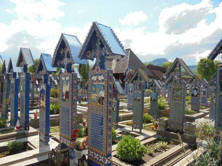 #romania #CimitirulVesel