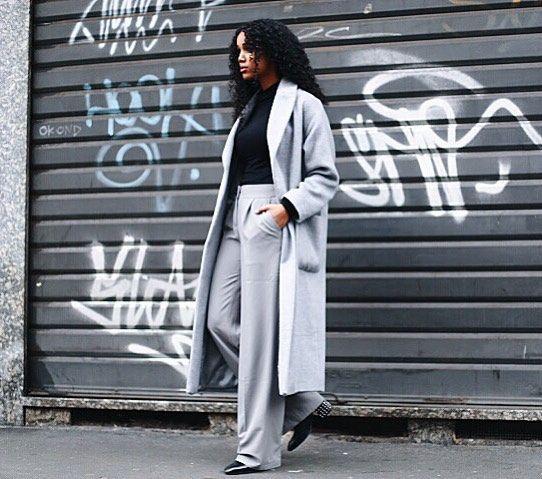 Avslutar dagen med en klassisk grå/svart outfit och är nu redo för middag! Vill här med också tacka för att ni följt mig och att ni kan hitta mig på @salemindrias instgram. Kram!  #ootd #lotd #grey #black