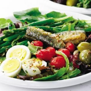 Spring Salad with Tarragon Vinaigrette Recipe #eatcleanpinparty