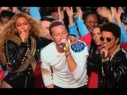 Beyonce , Coldplay and Bruno Mars in Super Bowl 50 Halftime Show Complete 2016 FULL - YouTube