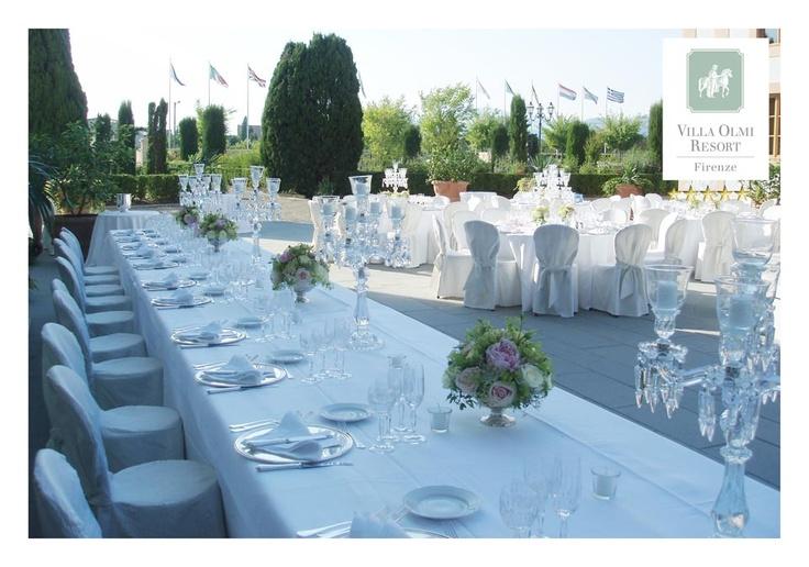 Wedding Table - Villa Olmi Resort