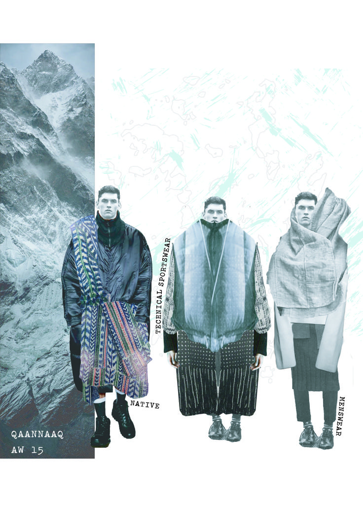 Fashion Portfolio - fashion illustrations; fashion sketchbook // Amie Edwards