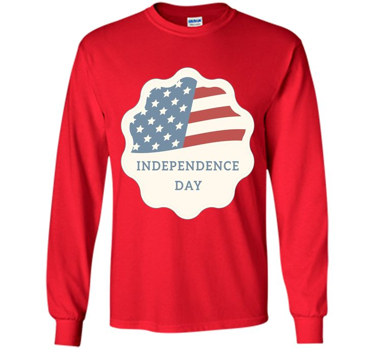 Independence Day American Flag T-Shirt