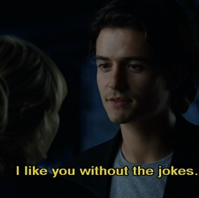 """Never make jokes. You are not a """"funny"""" girl"""