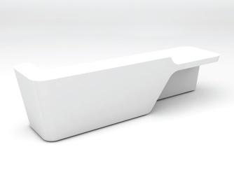Mono Reception Desks http://www.msl-interiors.co.uk/products/reception-desks/bespoke-reception-desks/mono#