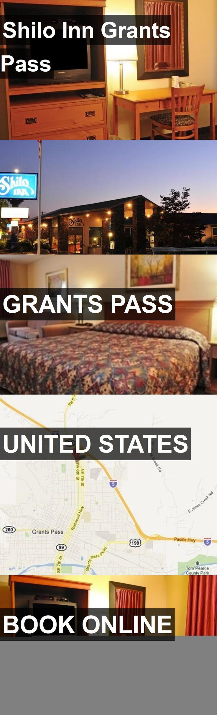 Hotel Shilo Inn Grants Pass in Grants Pass, United States. For more information, photos, reviews and best prices please follow the link. #UnitedStates #GrantsPass #travel #vacation #hotel