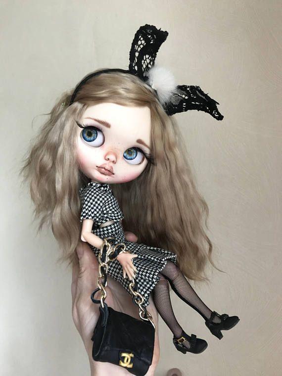 Doll for SALEOOAK custom blythe doll Lora by