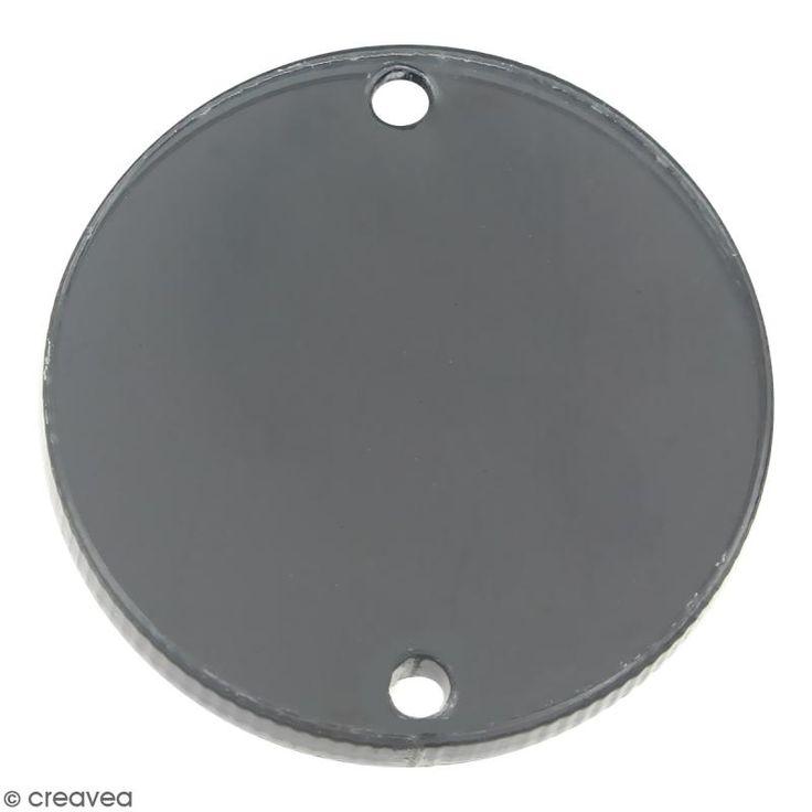 Compra nuestros productos a precios mini Dije intercalado círculo - Gris - 25 mm - Entrega rápida, gratuita a partir de 89 € !