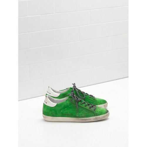 Kaufen Golden Goose Super Star Damen GGDB Sneakers Grün