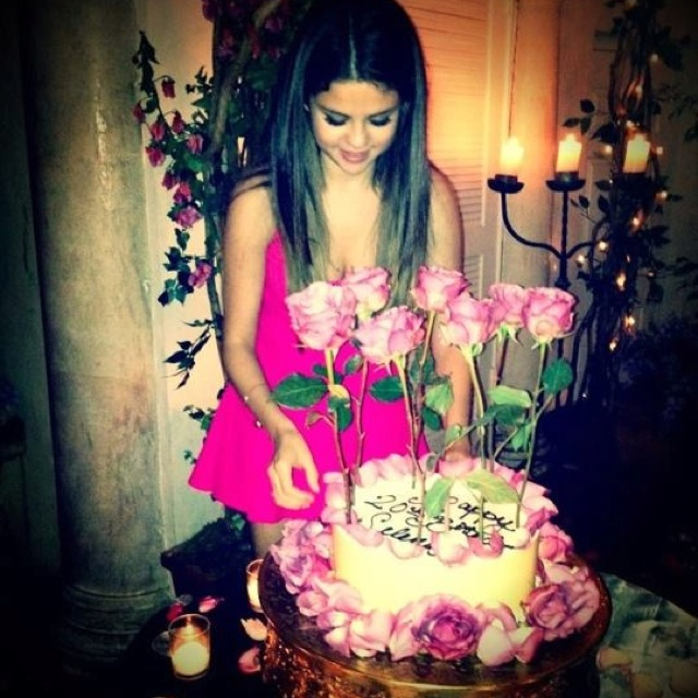Selena Gomez Th Birthday Party Cake