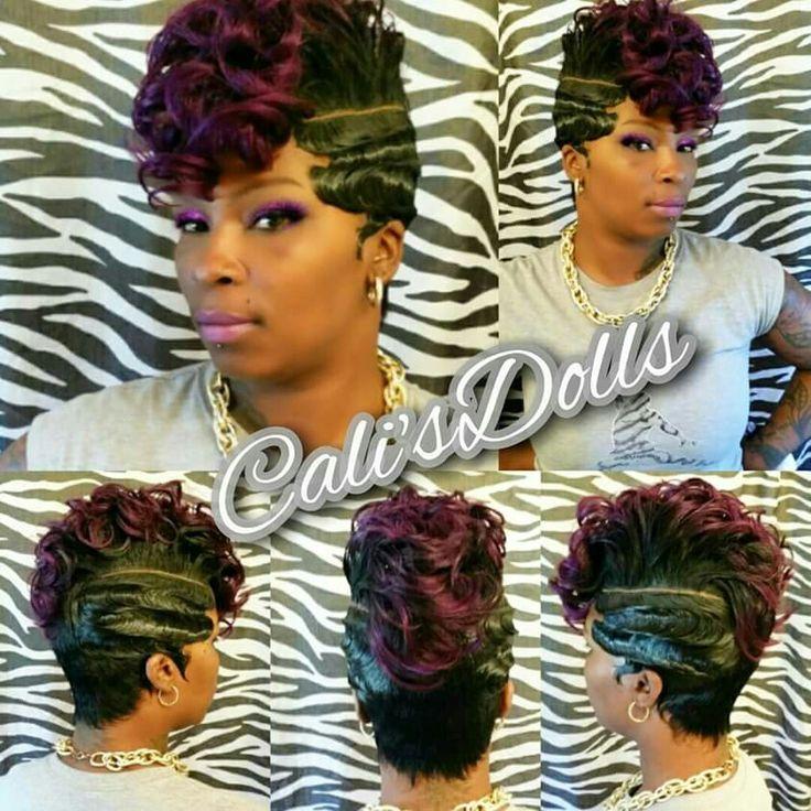 519 Best Flat Wrap Hair Styles Images On Pinterest