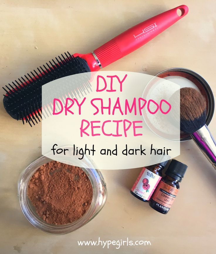 dry shampoo recipes