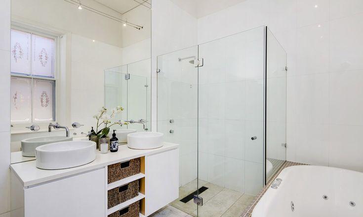 Luxury modern bathroom. North Adelaide. South Australia. Comfort. Living. InDaily.