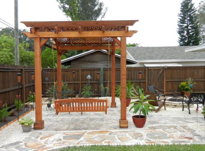 Superior 19 Modern Pergola Kit Designs For Your Outdoor Shade
