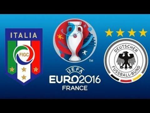 Germany vs Italy - Full Match Highlights   EURO 2016 hd