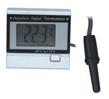 Thermometeradalah alat yang digunakan untuk mengukursuhu(temperatur), ataupun perubahan suhu.Pada thermometer digital menggunakan logam ...