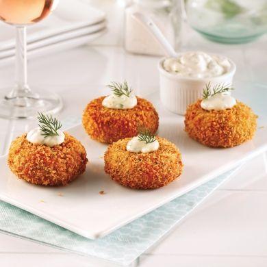 Mini-crab cakes - Soupers de semaine - Recettes 5-15 - Recettes express 5/15 - Pratico Pratique
