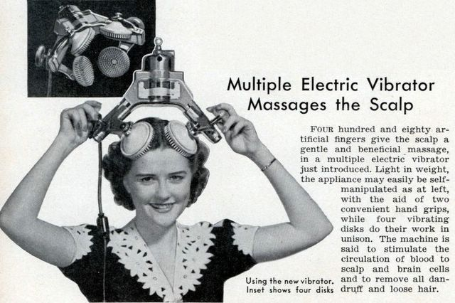 Multiple Electric Vibrator - Just the thing for Bad Thoughts?