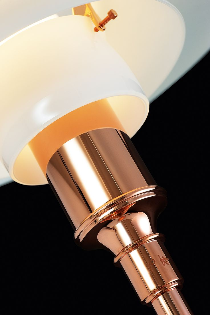 PH 3½-2½ Copper Floor Lamp. Louis Poulsen.