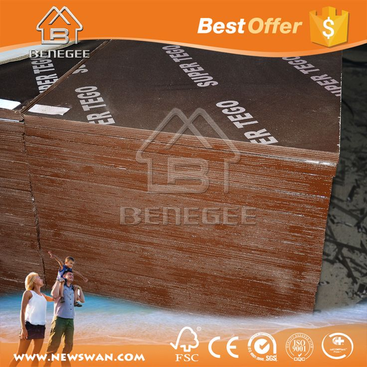 Factory Linyi Film Faced 18mm Plywood / Marine plywood Prices