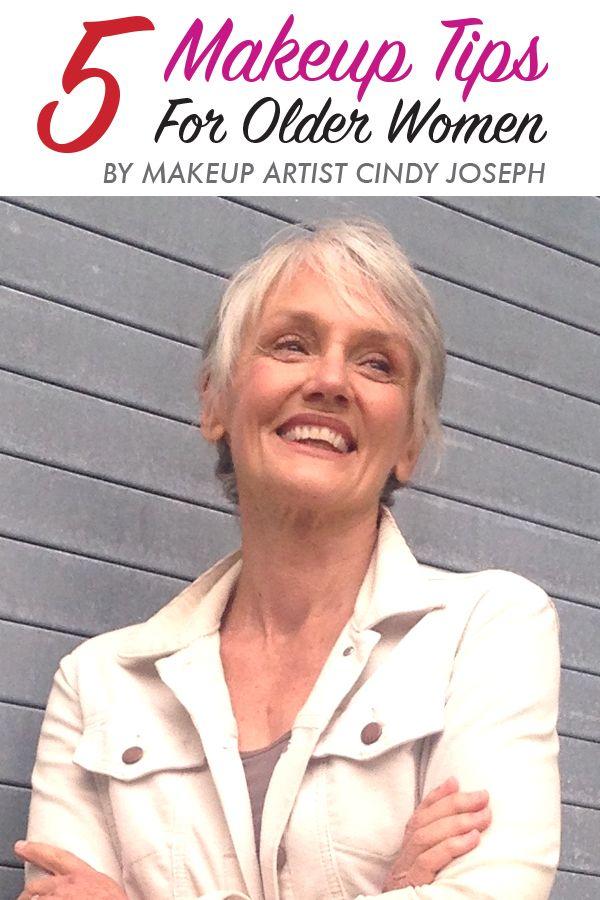 Cindy joseph 5 makeup tips for older women