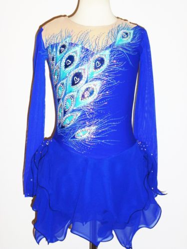 CUSTOM-MADE-TO-FIT-FIGURE-SKATING-BATON-TWIRLING-COSTUME