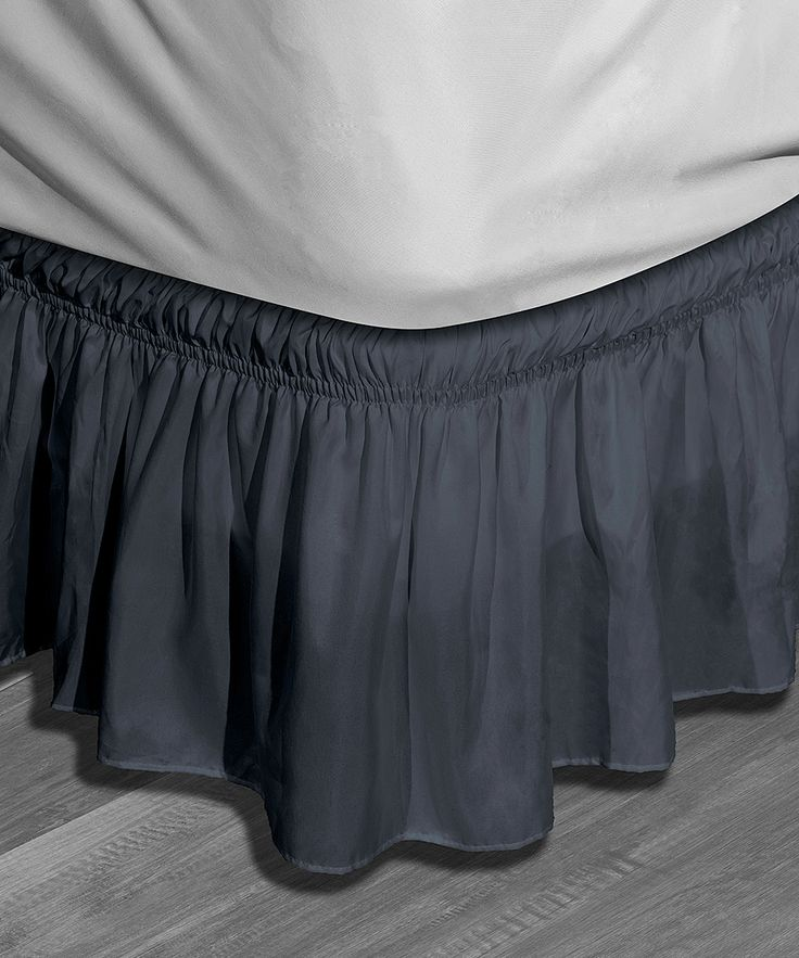 Blue Waldorf Bed Skirt