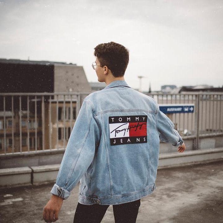 UOonYou via: @maxleeoo | Tommy Jeans '90s Denim Jacket | Urban Outfitters | Men's | Jackets | Denim Jackets #urbanoutfitterseu #uoeurope #uoonyou