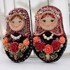 Во поле березка стояла... Две сестрички матрешки в свободной продаже. Какая из них вам больше нравится? Голубоглазка или зеленоглазка🤗