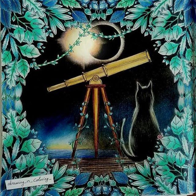 Telescope Enchanted Forest By Karine Calabra