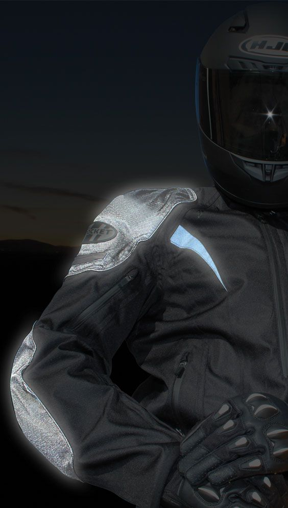 Atomic ION — armored, waterproof, and 360° textile jacket featuring Innolite®