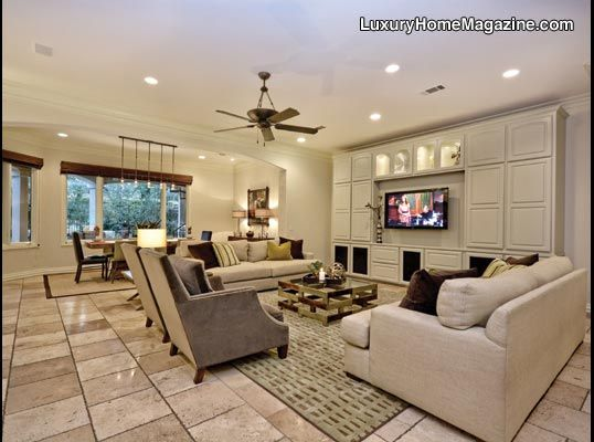 Expansive Living Room Perfect For Entertaining Austin The Hill Country